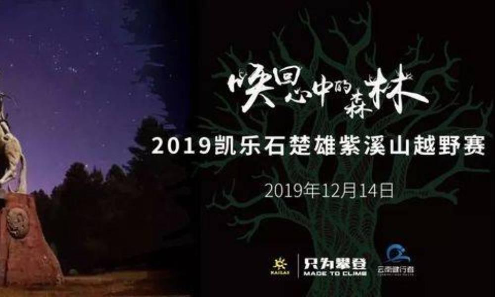 2019凯乐石楚雄紫溪山越野赛
