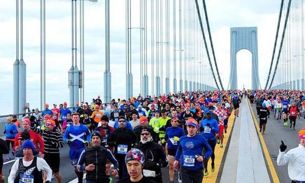 2020纽约马拉松(跑团邦)