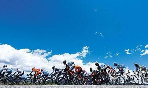 """第十四届""""青海农信杯""""环青海湖国际公路自行车赛"""