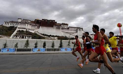 2015年第七届拉萨国际半程马拉松邀请赛
