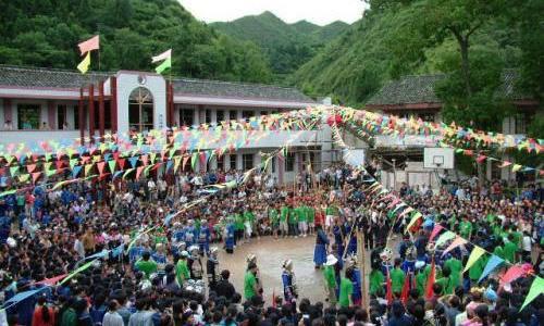 2015年贵州·良上六月六消夏民族文化节第一届山地自行车赛