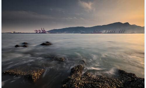 2015连云港之夏-连岛日落半程马拉松