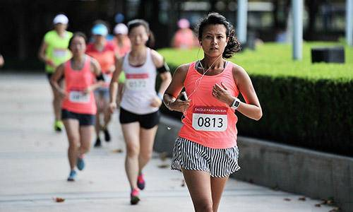 DAZZLE FASHION RUN 第二届上海女子10K跑