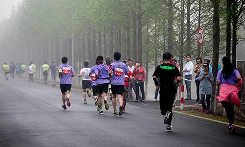 2015上海金山廊下半程马拉松