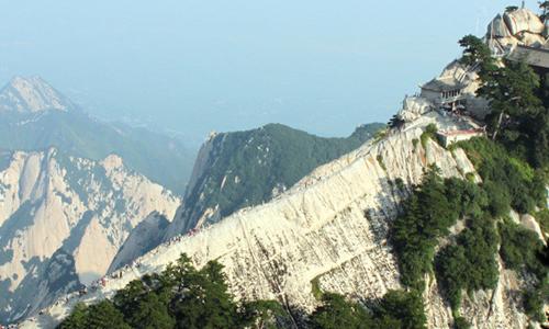 中国健身名山登山赛华山站