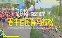 2018南京·江宁春牛首国际马拉松赛