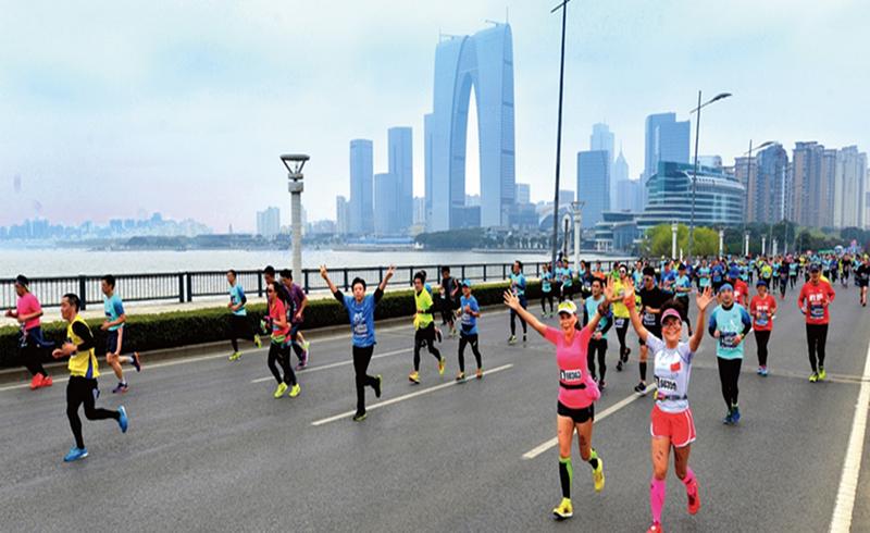 2018苏州环金鸡湖国际半程马拉松跑马套餐
