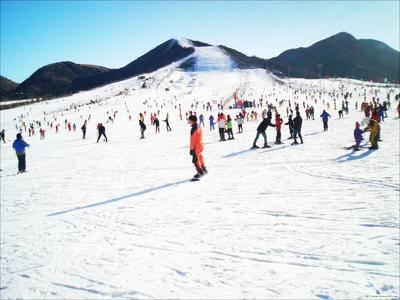 第三届大众冰雪北京公开赛 高山滑雪