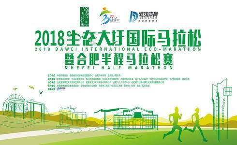 2018生态大圩国际半程马拉松暨合肥半程马拉松赛