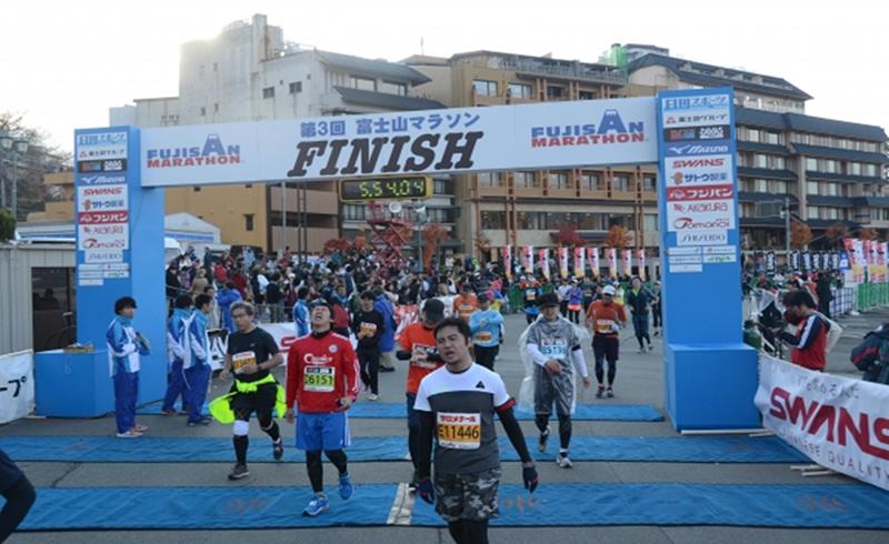 2018年富士山马拉松